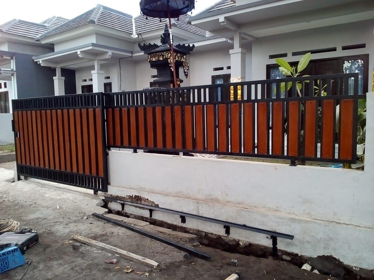 Pagar Bali Tukang Las Bali Tukang Las Listrik Bali Kanopy